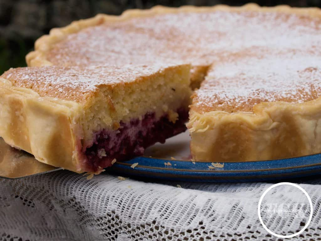 Bakewell pudding from Farmersgirl Kitchen