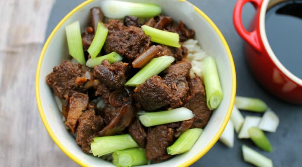 Slow Cooker Teriyaki Beef - BakingQueen74