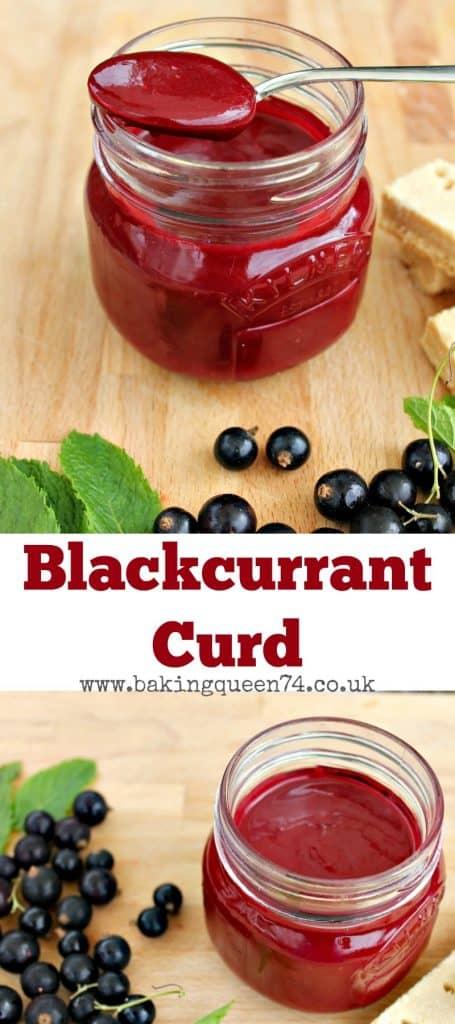 Blackcurrant Curd