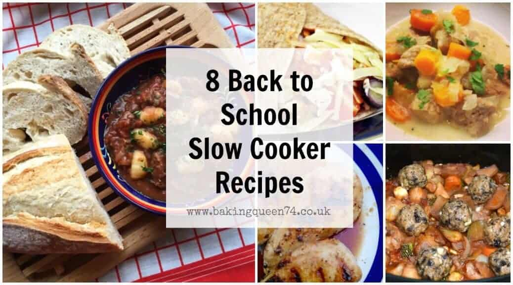 8 Back To School Slow Cooker Recipes