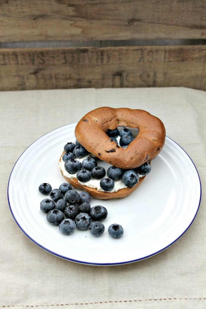 Gluten-Free Blueberry Cream Cheese Bagels
