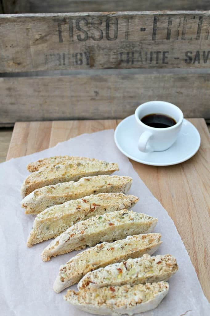 Mango, lime and pistachio biscotti - my 2015 GBBO bakes