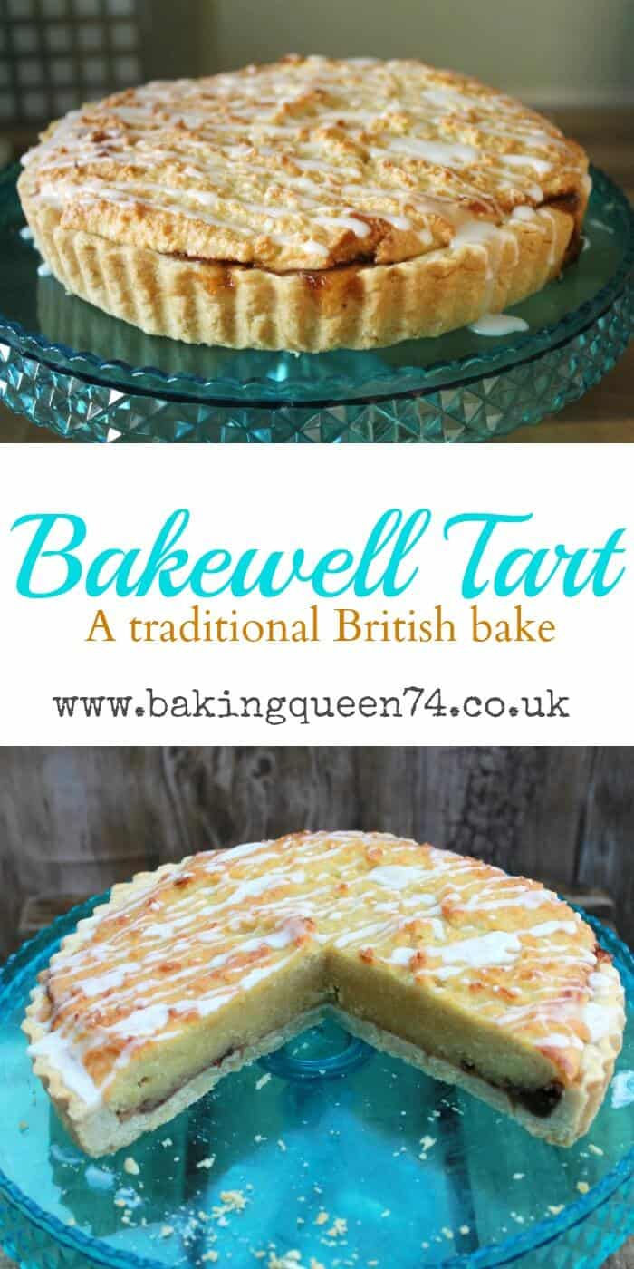 Plum Bakewell Tart recipe - a traditional British bake which is great for afternoon tea