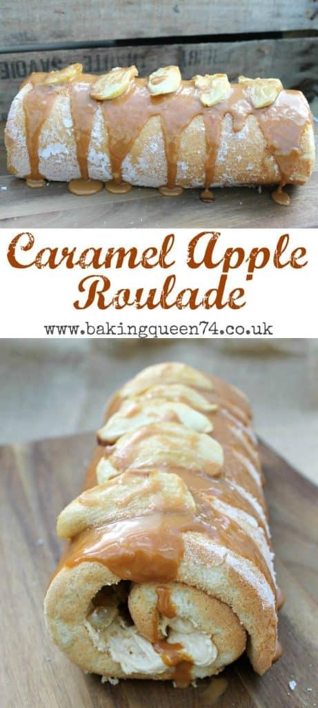 Caramel Apple Roulade recipe