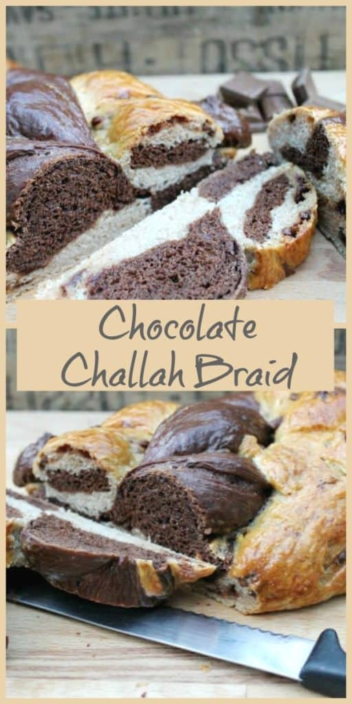 Chocolate Challah Braid