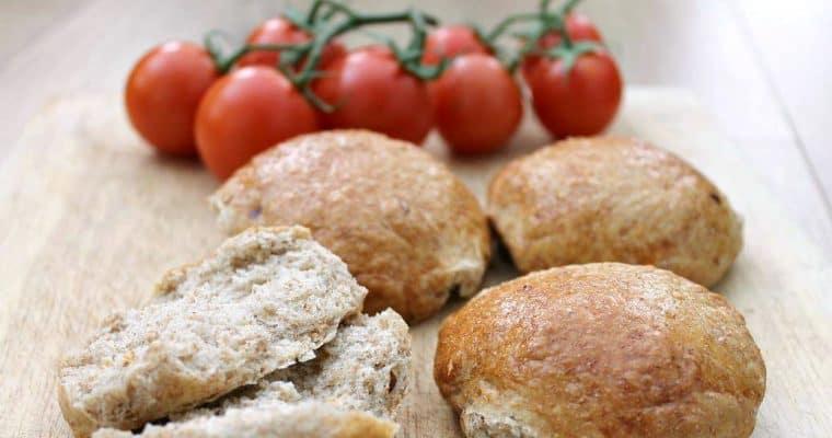 Wholemeal Chilli Bread Rolls