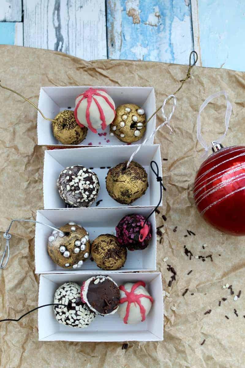 Chocolat Truffle Christmas Baubles