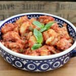 Slow cooker gnocchi with cannellini beans