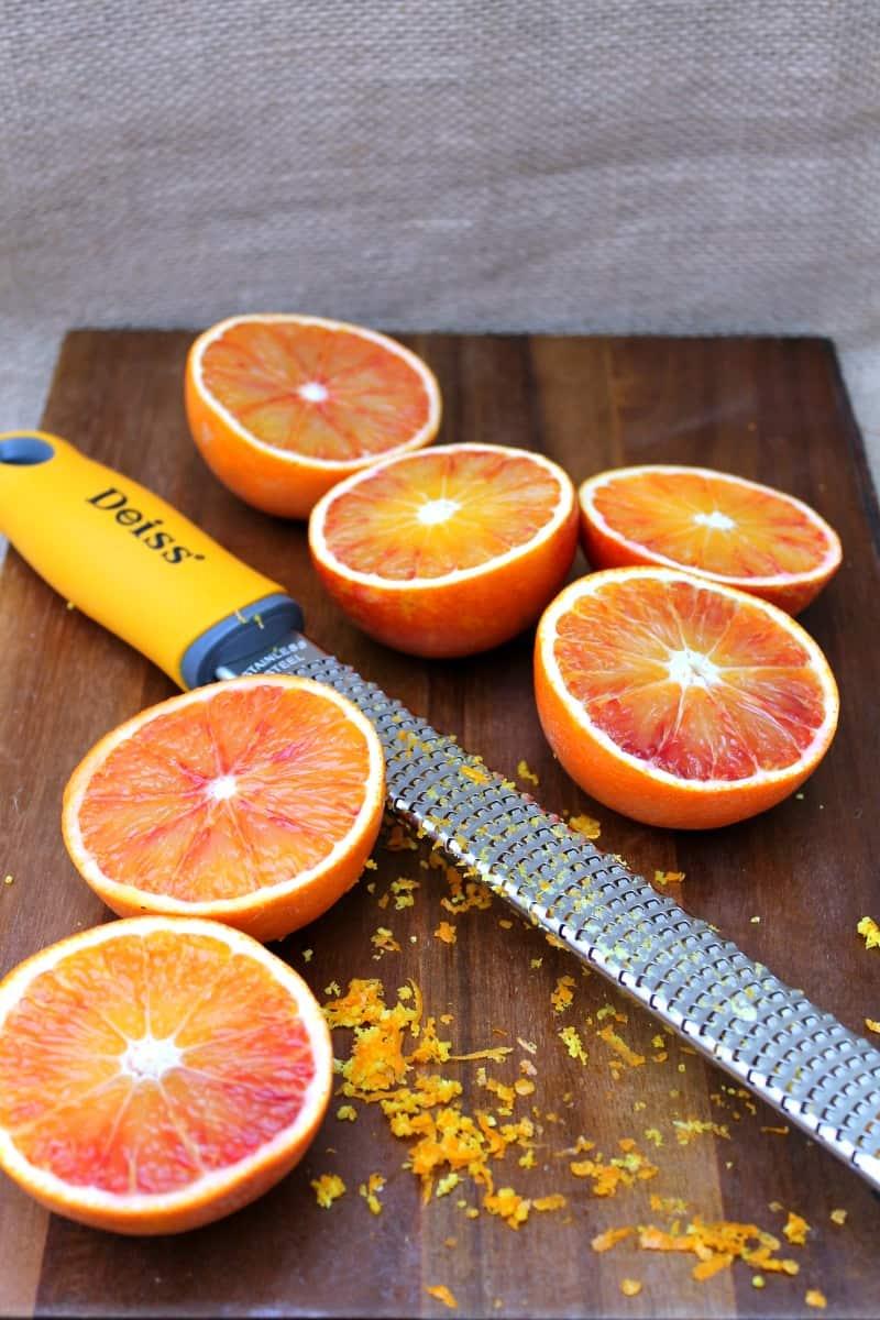 Blood Orange Buttermilk Scones