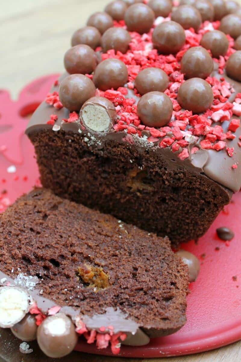 Malteser Chocolate Loaf Cake