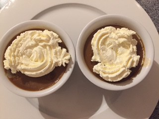 Slow cooker butterscotch pudding from Caroline Makes