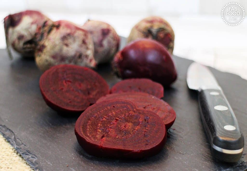 Simple slow cooked beetroot - Fab Food 4 All