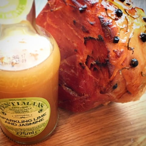 Slow Cooked Ham with Juniper, Lime and Jasmine - Foodie Quine