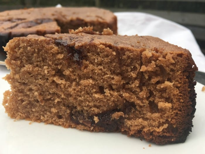 Slow cooker chocolate orange cake from Mummy Mishaps