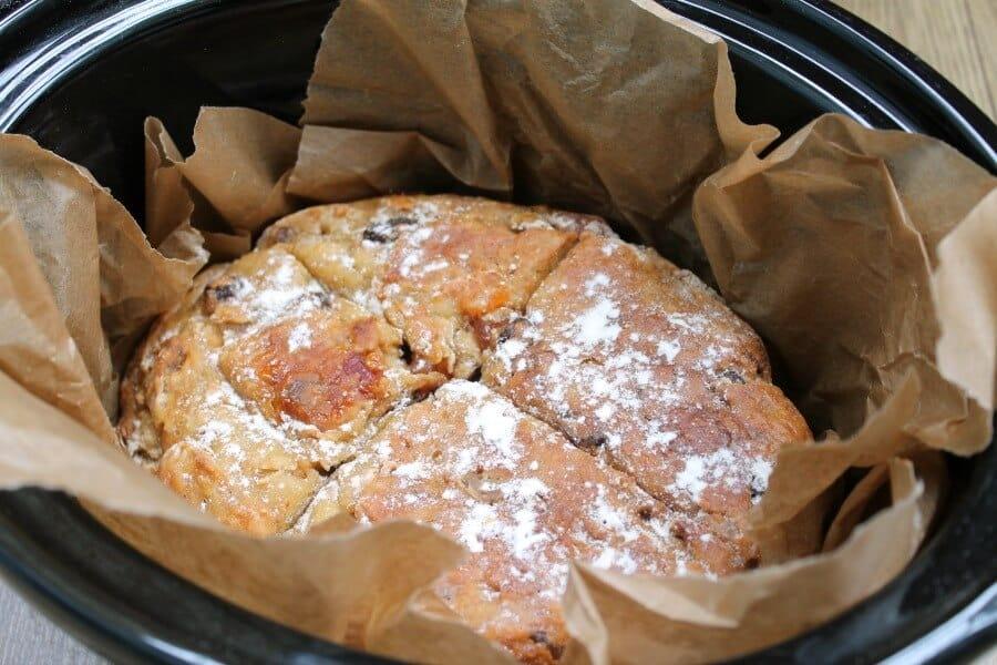 Slow Cooker Tropical Soda Bread
