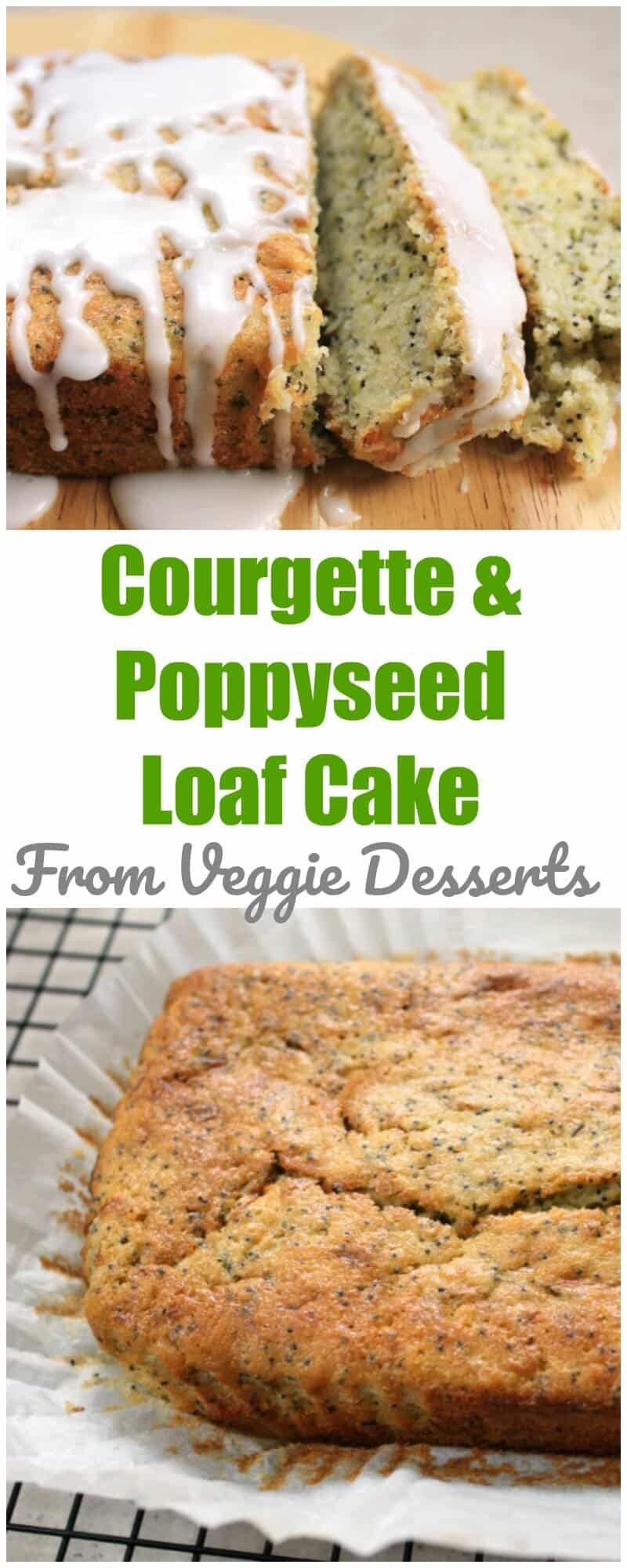 Courgette Lemon Cake Vegan
