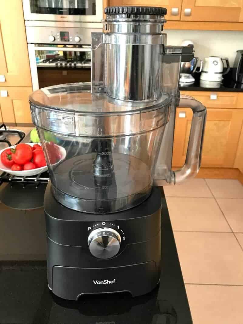 New Gadget in My Kitchen – VonShef Food Processor