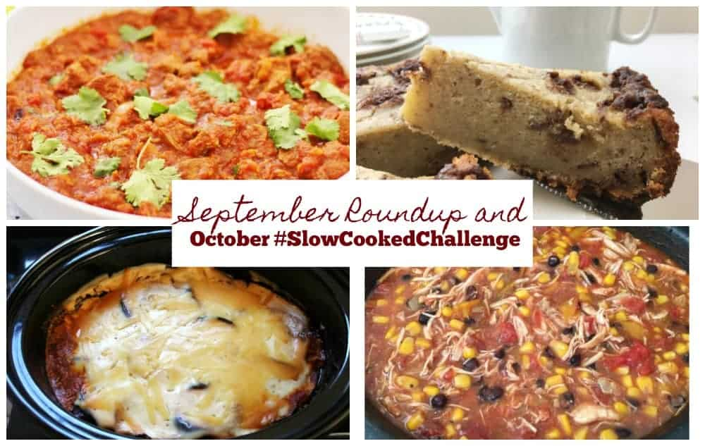 4 Autumnal Slow Cooker Recipes & October #SlowCookedChallenge