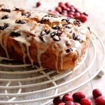 Cranberry and Orange Loaf Cake