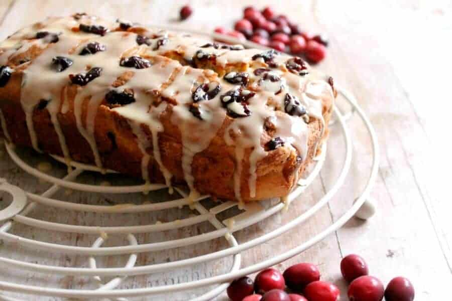 Cranberry and Orange Loaf Cake