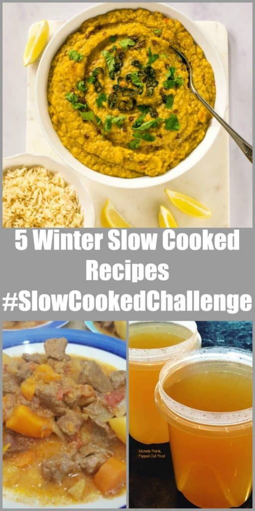 5 winter slow cooked recipes #SlowCookedChallenge November 2017 roundup