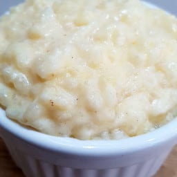 Slow cooker rice pudding from Cooking with kids