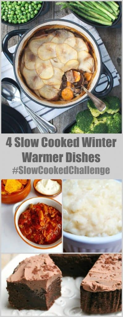 4 slow cooked winter warmer dishes #SlowCookedChallenge
