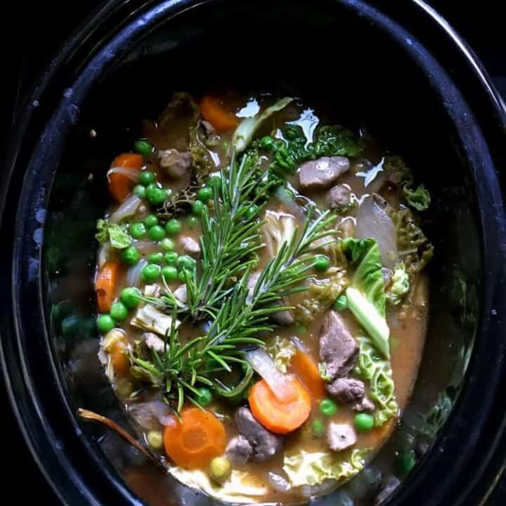 Slow cooker lamb casserole - Family Slow Cooker Recipes