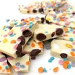 Mini Egg White Chocolate Bark