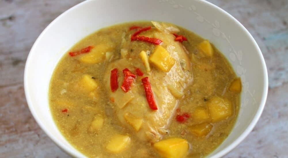 Slow Cooker Mango Chilli Chicken
