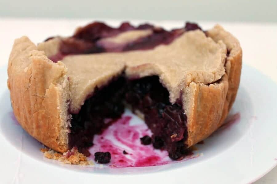 Slow Cooker Berry Pie