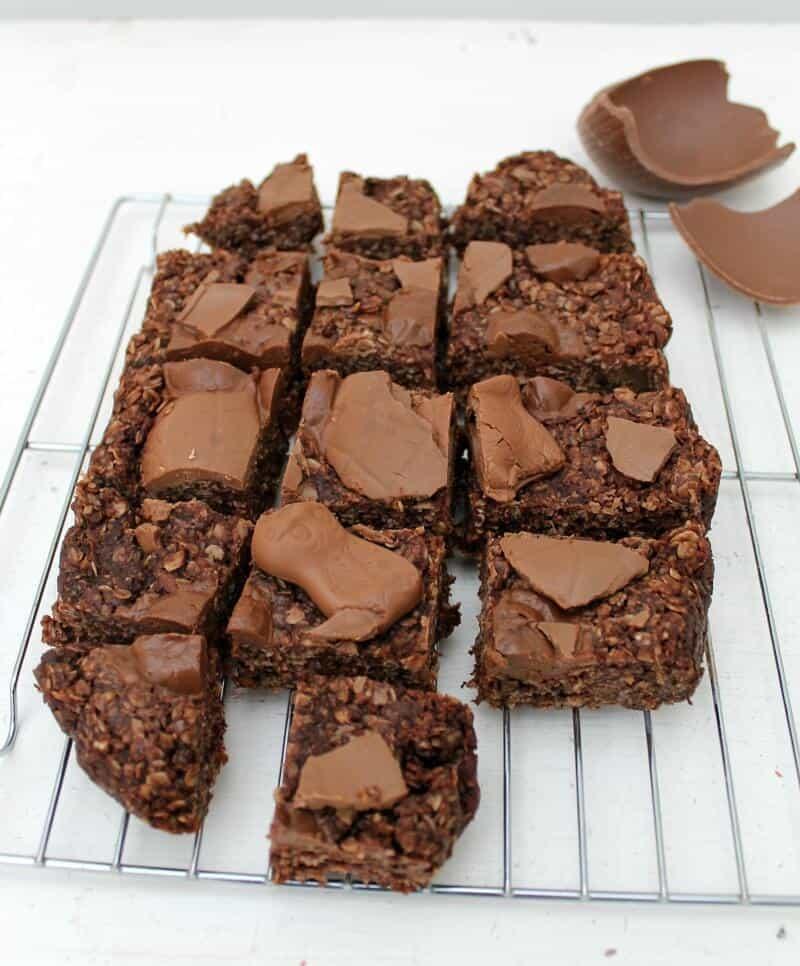Slow Cooker Chocolate Flapjacks