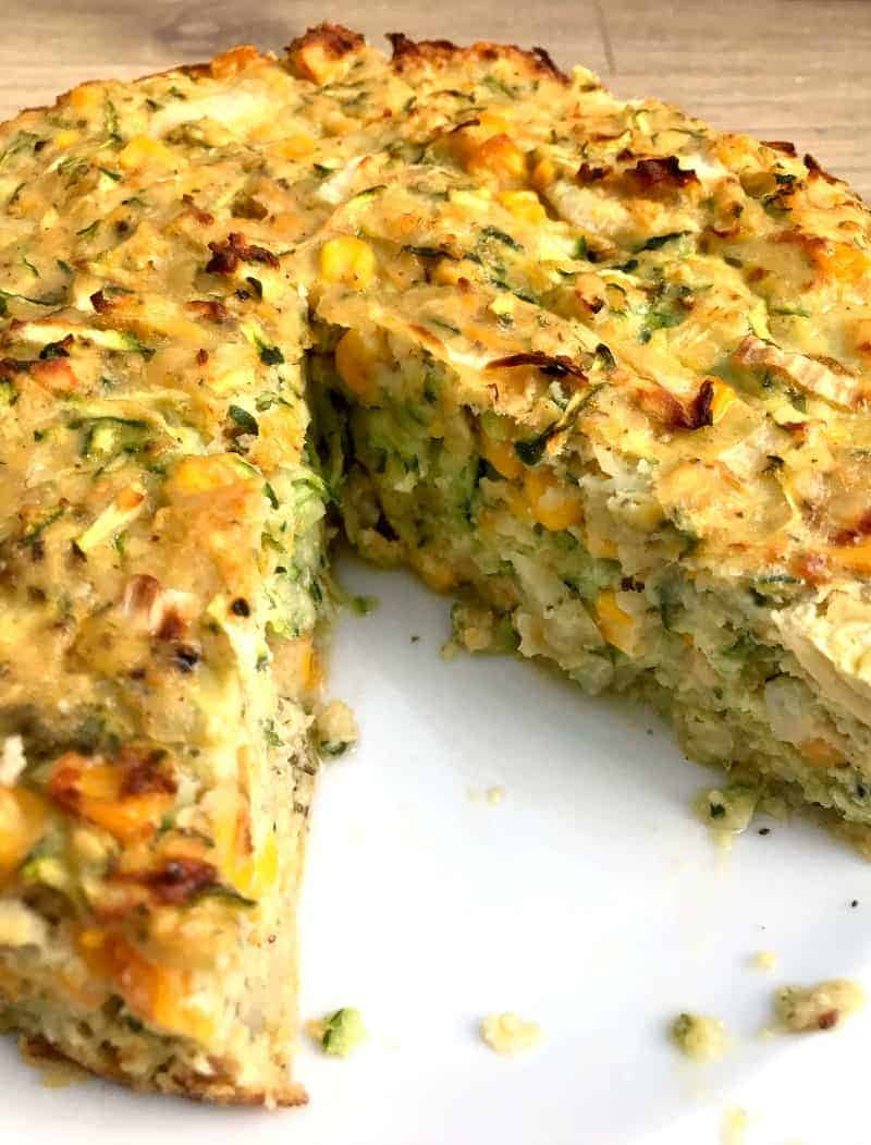Courgette and Butternut Squash Lentil Bake