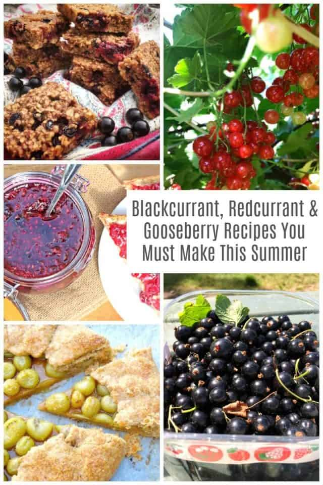 Blackcurrant, Redcurrant and Gooseberry Recipes You Must Make This Summer