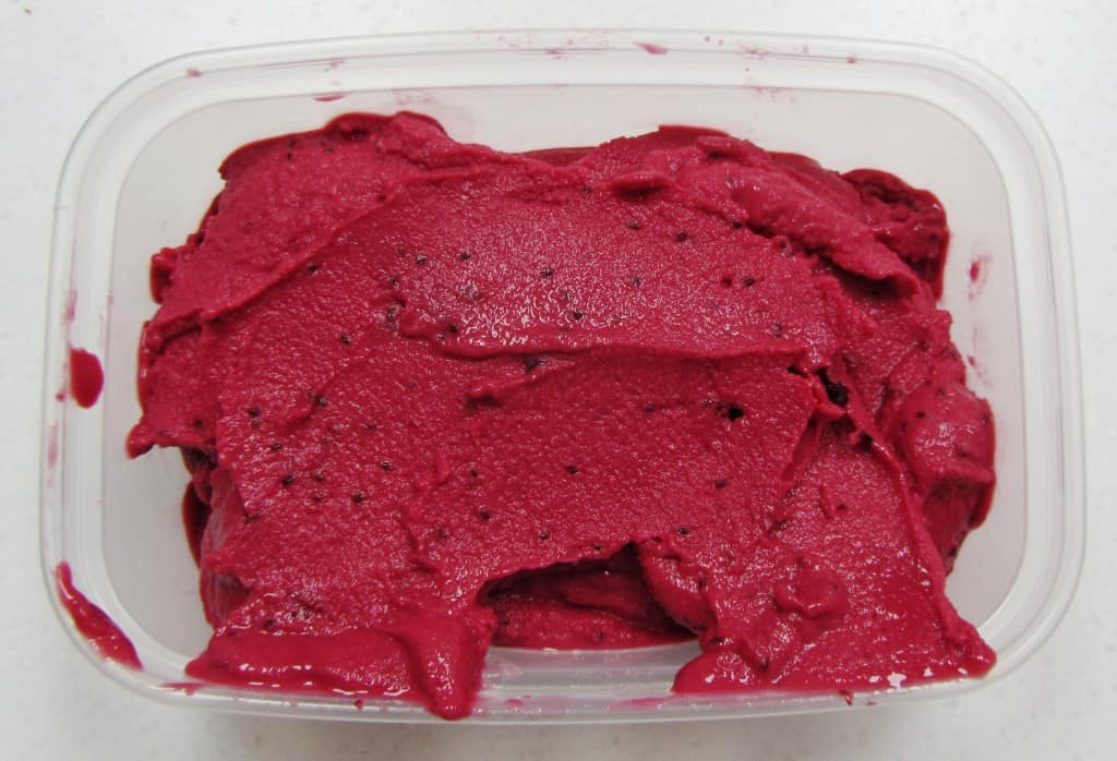 Blackcurrant Frozen Yoghurt from Searching for Spice