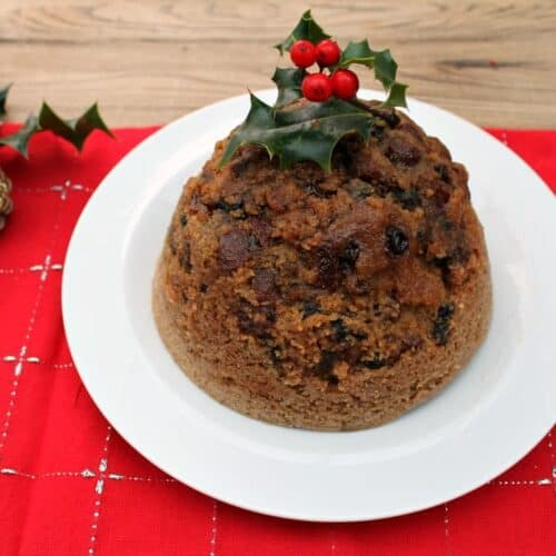 Slow Cooker Mincemeat Pudding