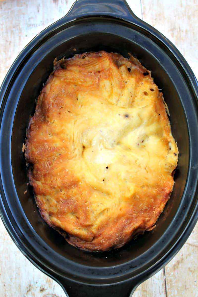 Slow Cooker Pastitsio