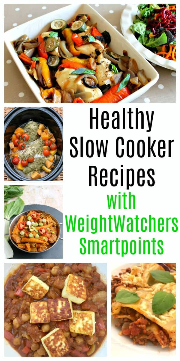 Healthy Slow Cooker Recipes with WeightWatchers Smartpoints