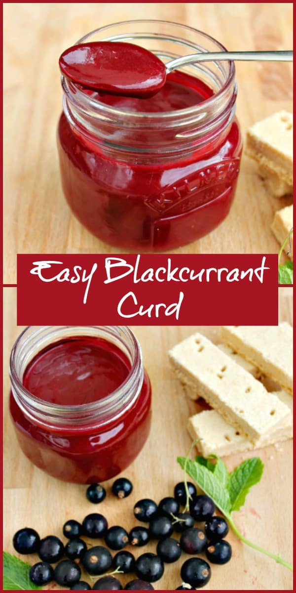 Easy Blackcurrant Curd