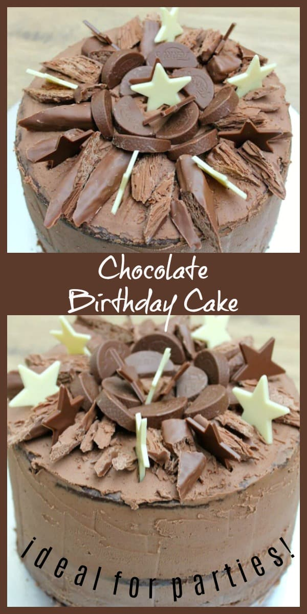 Chocolate Birthday Cake Recipe