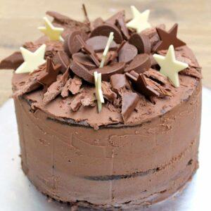 Excellent Chocolate Birthday Cake Bakingqueen74 Funny Birthday Cards Online Hendilapandamsfinfo