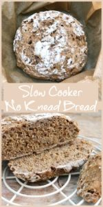 Slow Cooker No Knead Bread