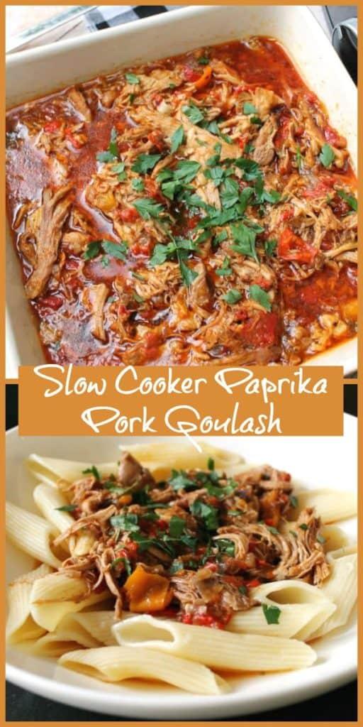 Slow Cooker Paprika Pork Goulash