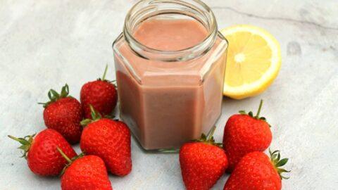 Easy Strawberry Curd