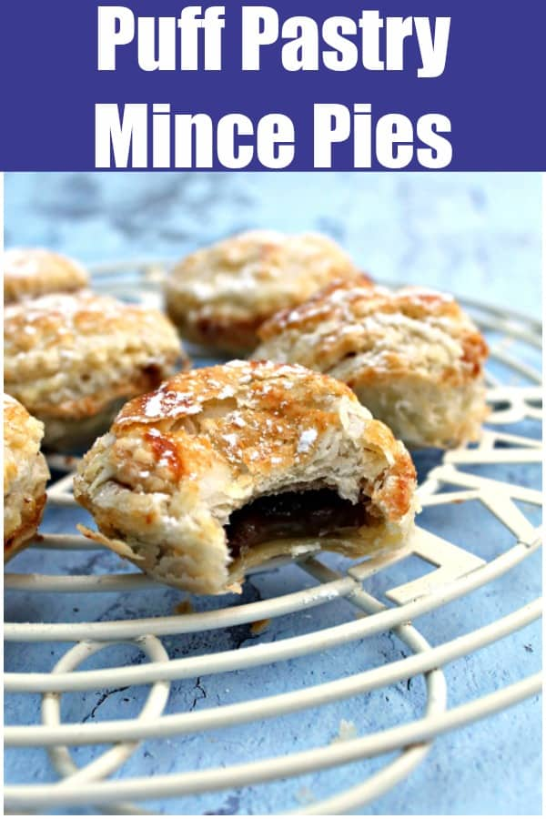 Mince pie text collage