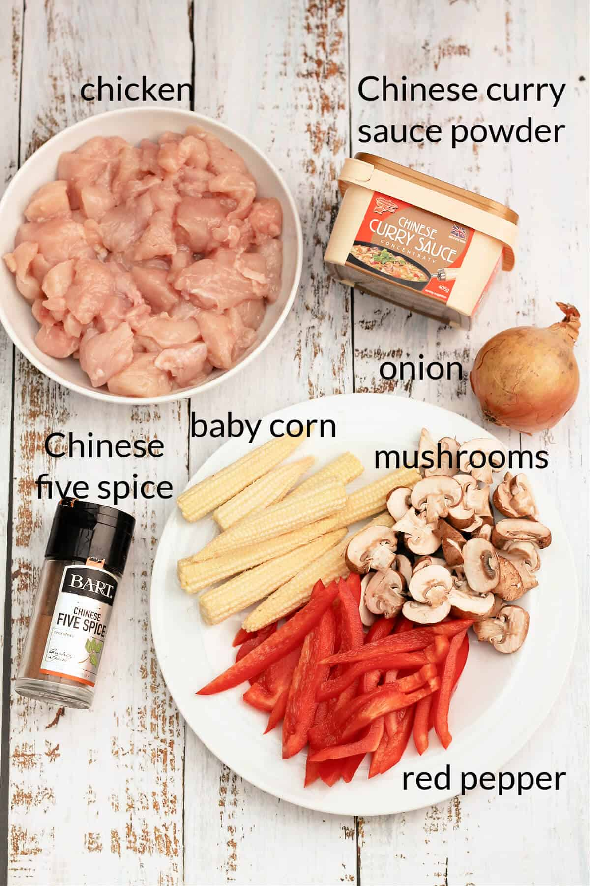 Labelled ingredients image showing all ingredients listed below.